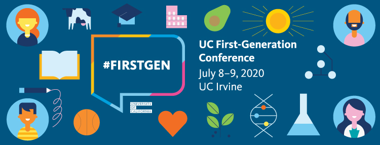 2020 UC First-Gen Conference banner image